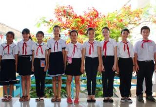 Hình ảnh học sinh giỏi của trường Trần Cao Vân