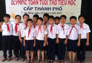 Học sinh giao lưu Olympics Toán Tuổi Thơ tại trường tiểu học Trần Văn Ơn