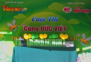 """Giao lưu chương trình """" Cùng Đức Việt thông minh và khéo léo """""""