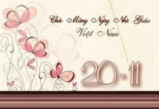 Những bài viết của học sinh nhà trường về thầy cô giáo nhân kỷ niệm 32 năm Ngày Nhà giáo Việt Nam 20/11.