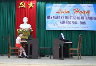 LIÊN HOAN ĐÀN PIANO KỸ THUẬT SỐ QUẬN THANH KHÊ NĂM HỌC 2014 – 2015