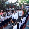 Lễ khai giảng năm học của các em.