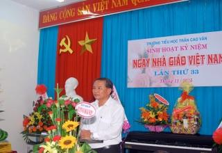 Sinh hoạt kỷ niệm Ngày nhà giáo Việt Nam 20/11/2015