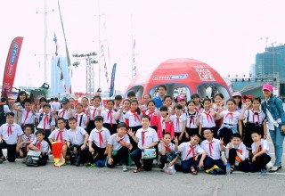Tham quan 12 thuyền buồm tại Cảng Đà Nẵng