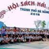 Học sinh Trần Cao Vân với Ngày hội sách Việt Nam.