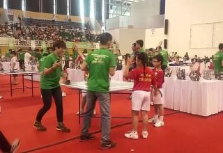 """Video """"Trần Cao Vân tham gia Cuộc thi Robotics 2015"""""""