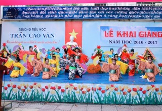 LỄ KHAI GIẢNG NĂM HỌC 2016-2017