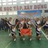Đội tuyển Aerobic đạt giải nhất Hội thi thể thao học sinh cấp quận