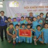 Giải bóng đá Thể thao học sinh cấp quận năm học 2017 -2018