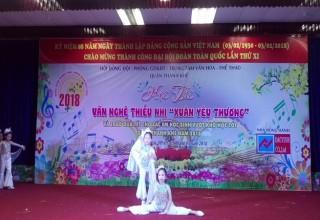 """Hội thi văn nghệ """"Xuân yêu thương"""" 2017- 2018"""