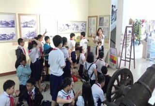 Tổ chức hoạt động ngoại khóa tại Bảo tàng Đà Nẵng cho học sinh khối 4