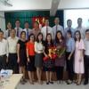 Đón đoàn cán bộ giáo viên Trường Cán bộ quản lí giáo dục TP.HCM đến giao lưu, trao đổi kinh nghiệm giáo dục với phòng GD & ĐT quận Thanh Khê với trường TH Trần Cao Vân