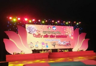 Hội thi làm lồng đèn thành phố năm 2018