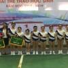 Tham gia giải Aerobic cấp Quận nhà trường đạt giải ba