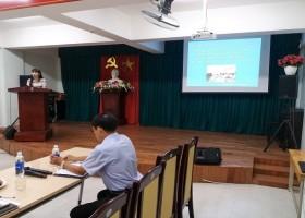 """Đón đoàn Cán bộ Sở Giáo dục và Đào tạo tỉnh Khánh Hòa đến thăm quan mô hình """"Trường học thông minh"""" tại trường TH Trần Cao Vân"""